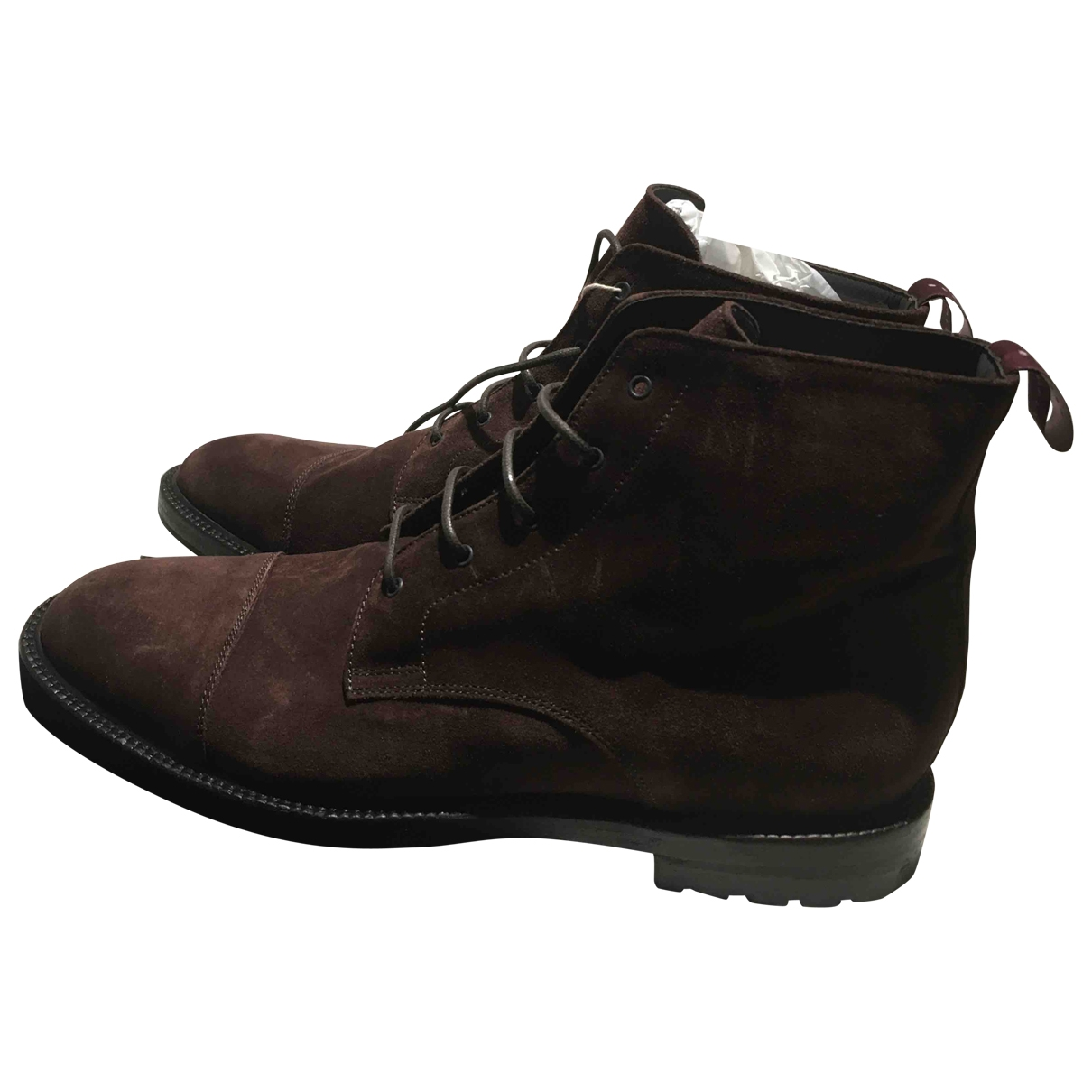 Non Signé / Unsigned \N Suede Boots for Men 9 UK