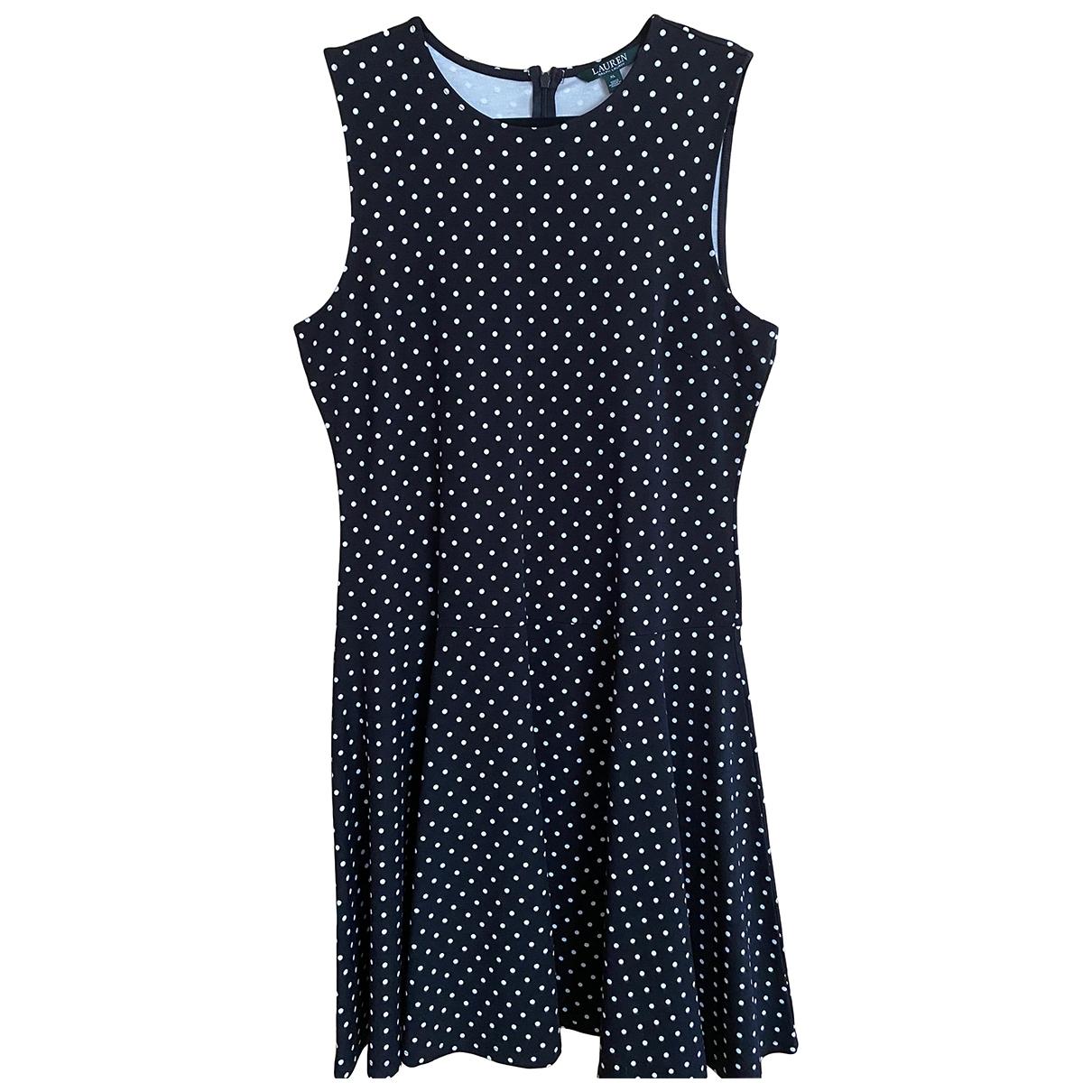 Ralph Lauren \N Multicolour Cotton - elasthane dress for Women 16 UK