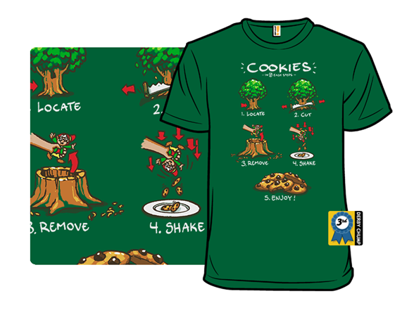 Making Cookies T Shirt