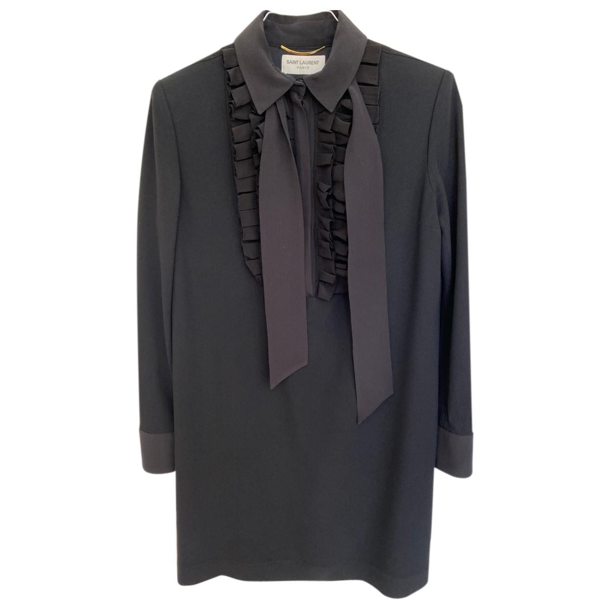Saint Laurent \N Black dress for Women 34 FR