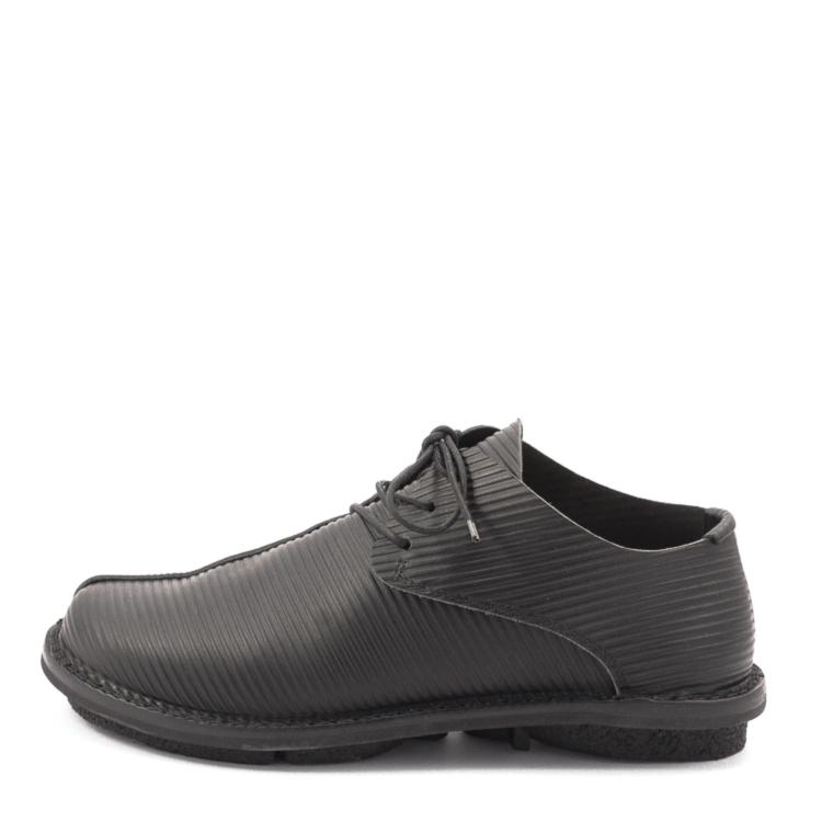 Trippen, Gangster m Closed Men's Lace-up Shoes, black Größe 40