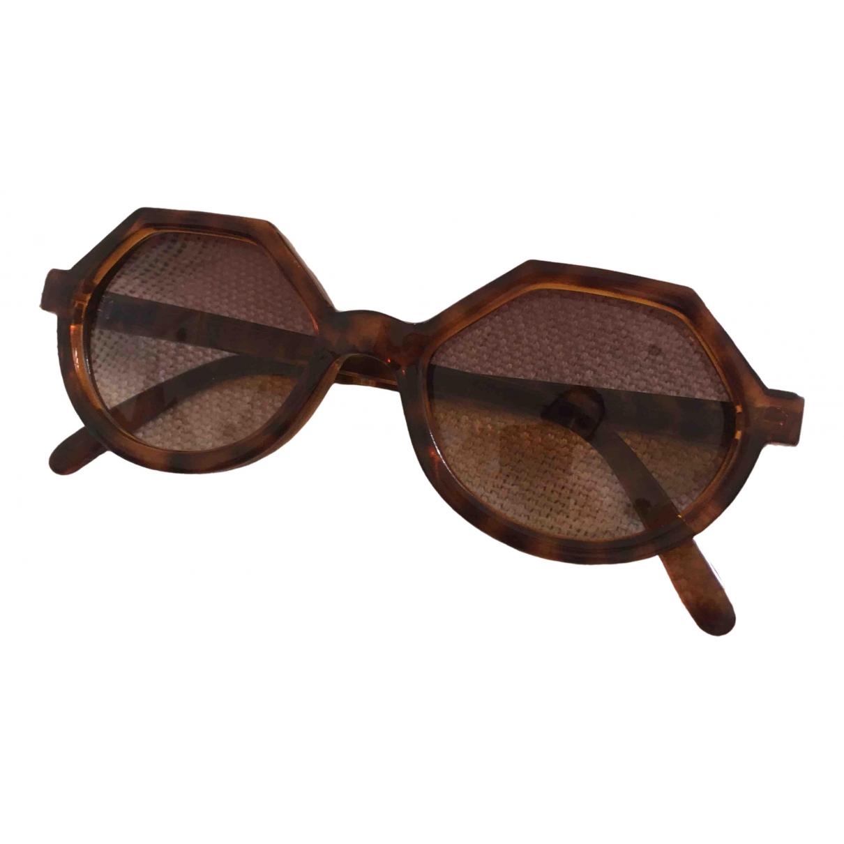 Christian Lacroix \N Brown Sunglasses for Women \N