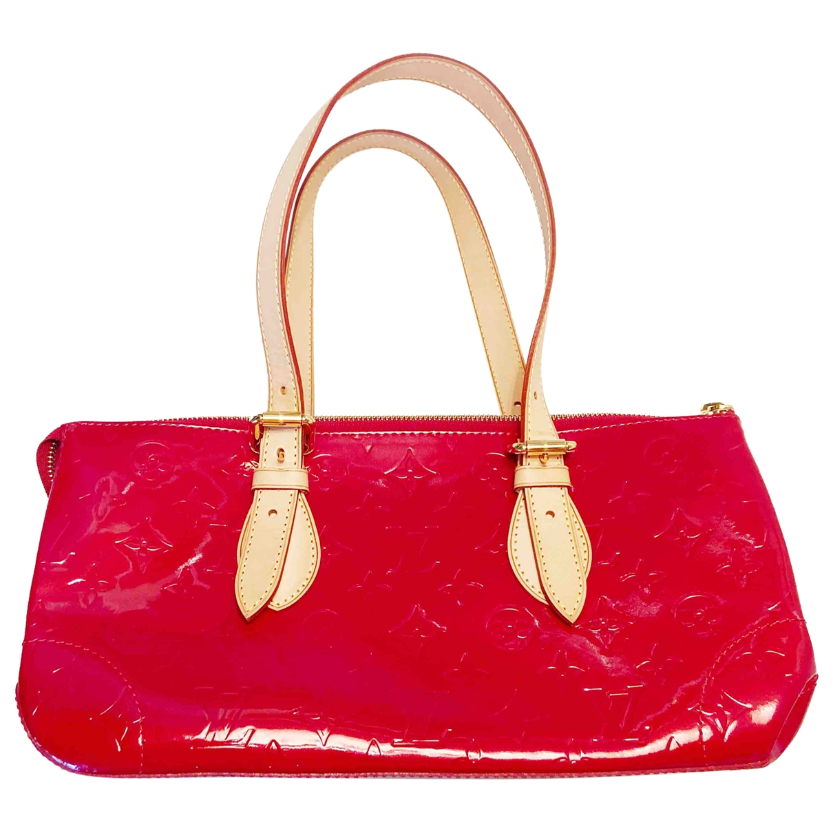 Louis Vuitton Rosewood Red Patent leather handbag for Women \N