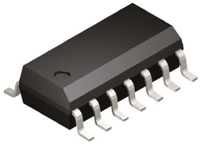 Microchip MCP6274-E/SL , Op Amp, RRIO, 2MHz, 3 V, 5 V, 14-Pin SOIC (5)
