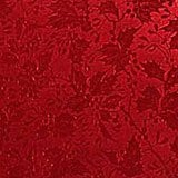 Red Holly Wholesale Gift Wrap - 30 X 417' - Gift Wrapping Paper - Type: Holly Embossed On 62# Foil Paper by Paper Mart