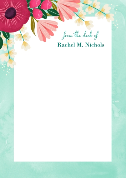 For Her 5x7 Personal Stationery, Card & Stationery -Mothers Day Garden