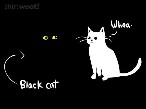 Black Cat Magic T Shirt