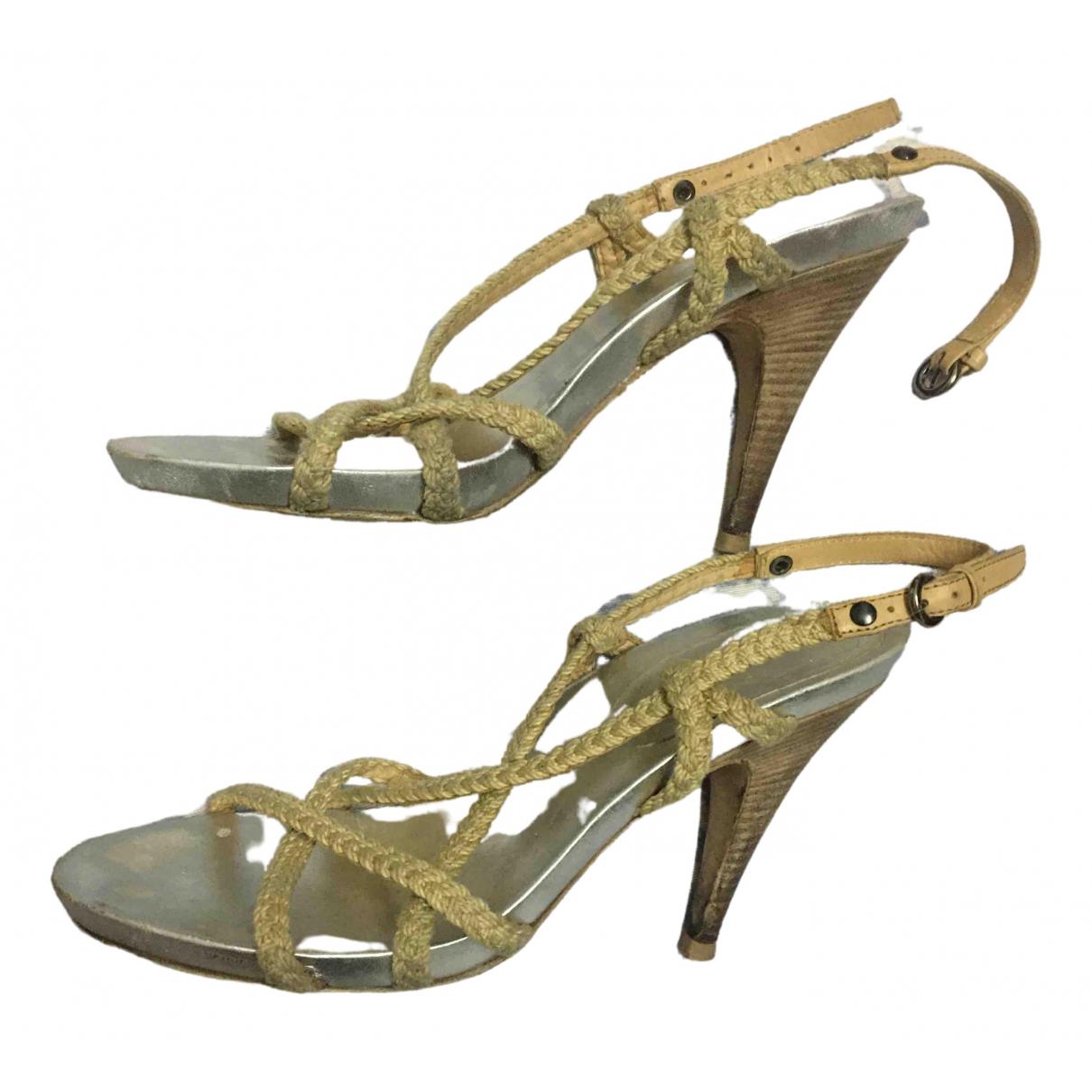 Miu Miu \N Multicolour Cloth Sandals for Women 38 EU