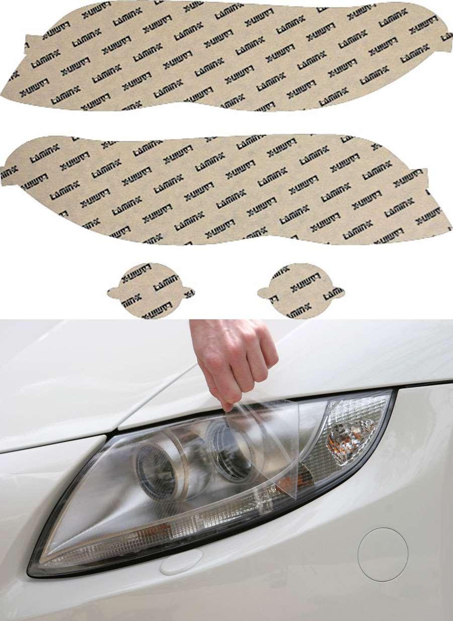 BMW X5 04-06 Clear Headlight Covers Lamin-X B008CL
