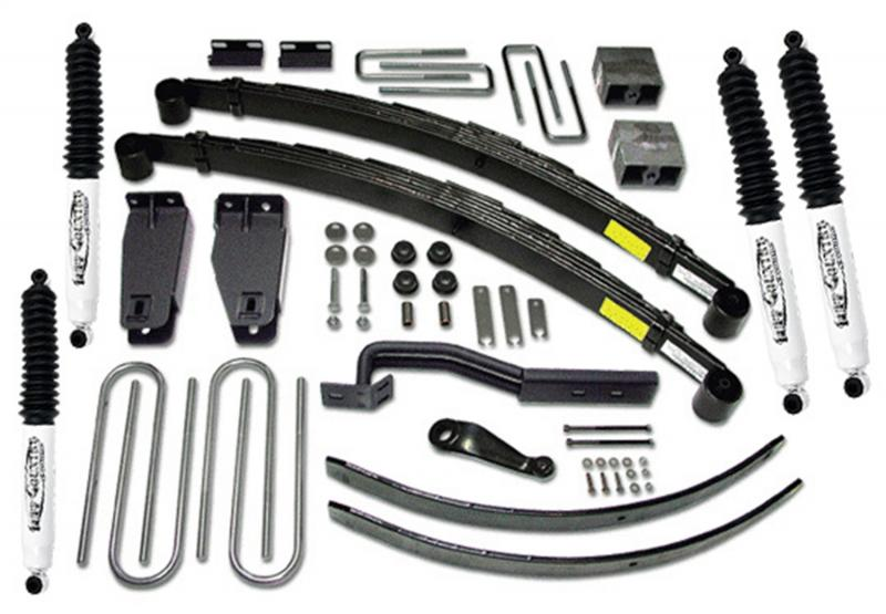 Tuff Country 26833KN Complete Kit (w/SX8000 Shocks)-6in. Ford F-250 1997