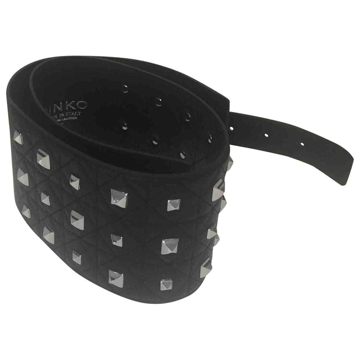 Pinko \N Black Leather belt for Women S International