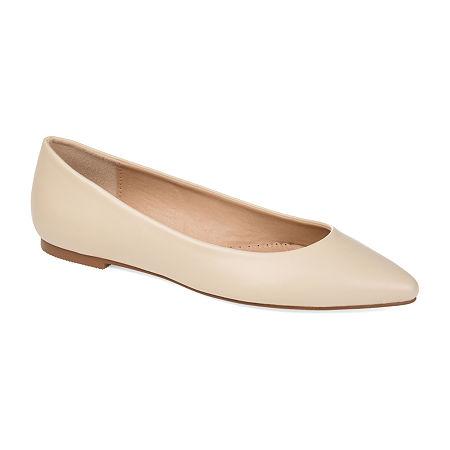 Journee Collection Womens Moana Slip-On Shoe, 10 Medium, Beige