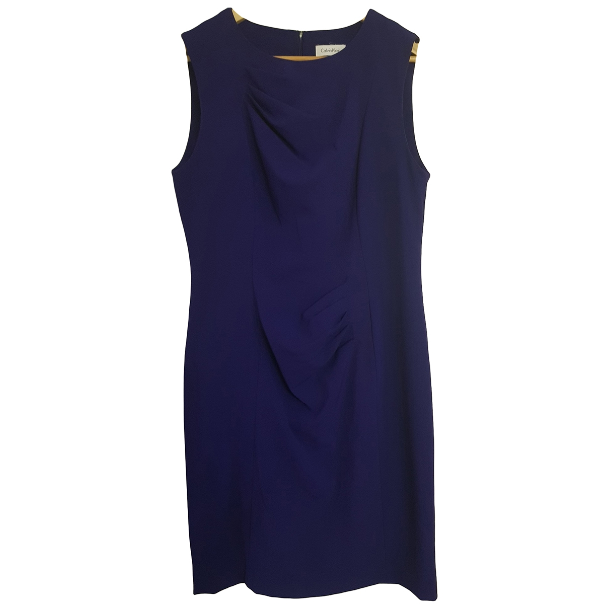 Calvin Klein \N Purple Cotton dress for Women 12 US