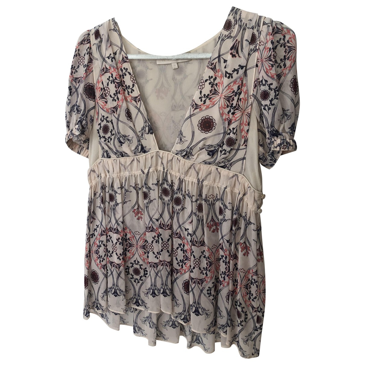Vanessa Bruno \N Multicolour Silk  top for Women 36 FR