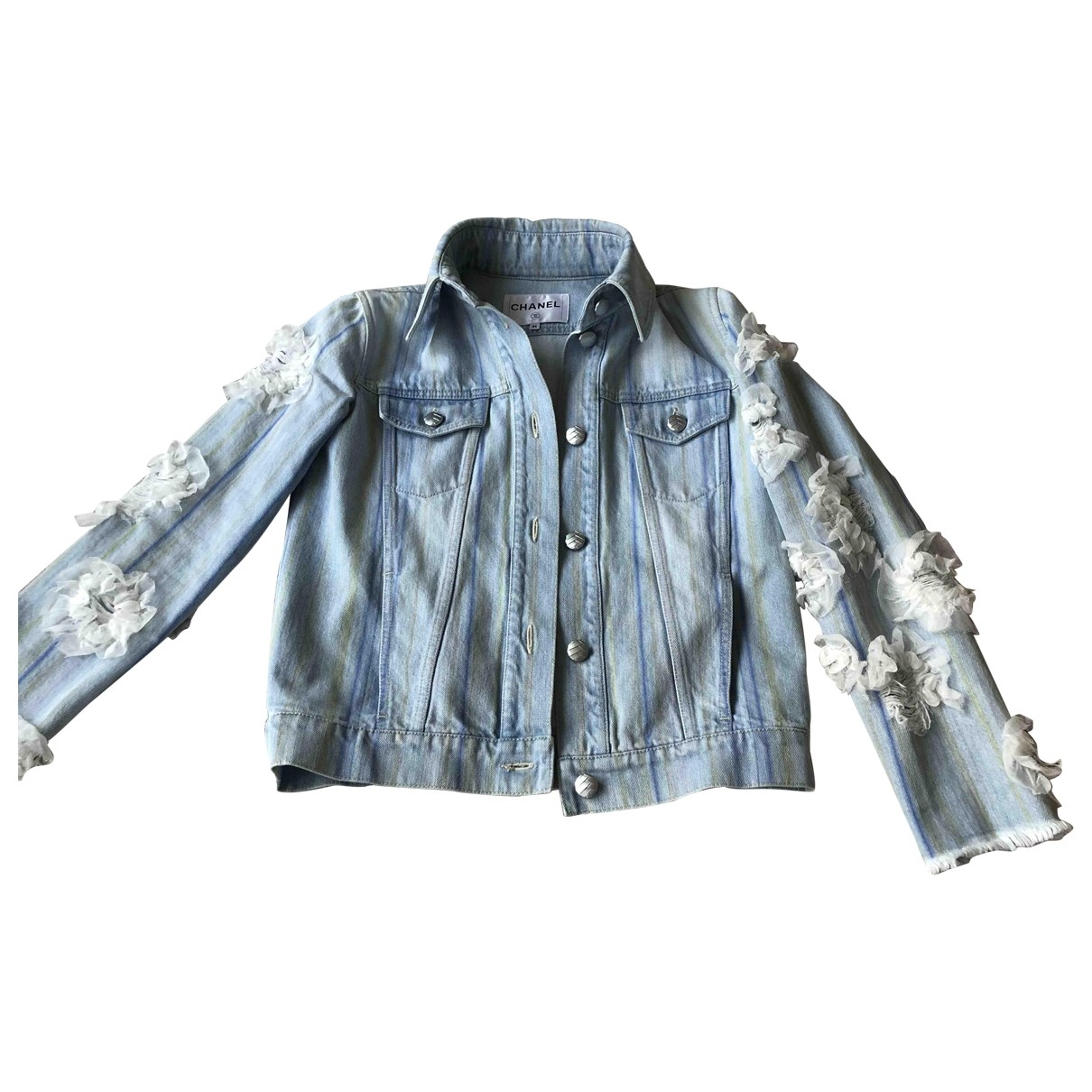 Chanel \N Blue Denim - Jeans jacket for Women 34 FR