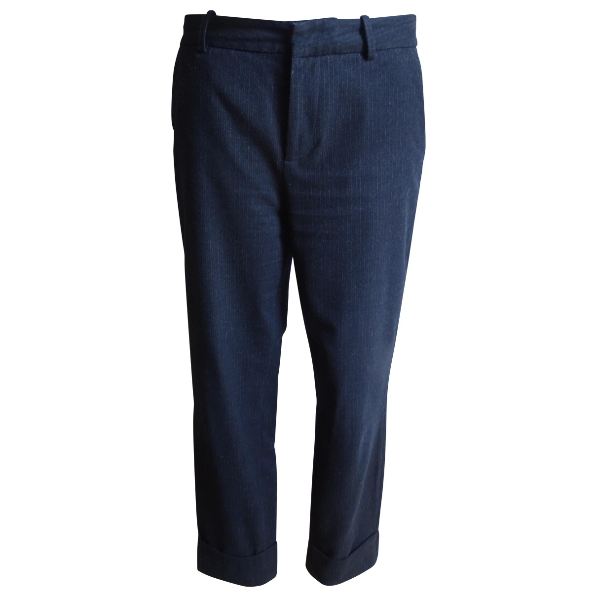 Closed \N Blue Trousers for Women 38 FR