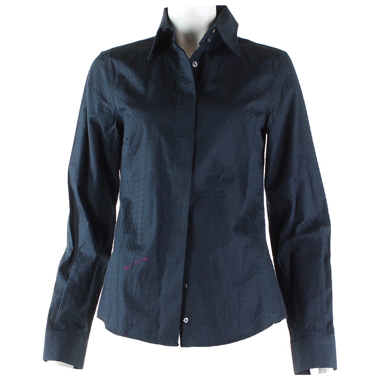 Etro \N Navy Cotton  top for Women 42 IT