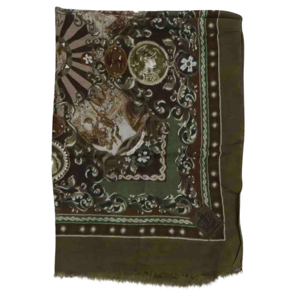 Dolce & Gabbana \N Khaki Cashmere scarf & pocket squares for Men \N
