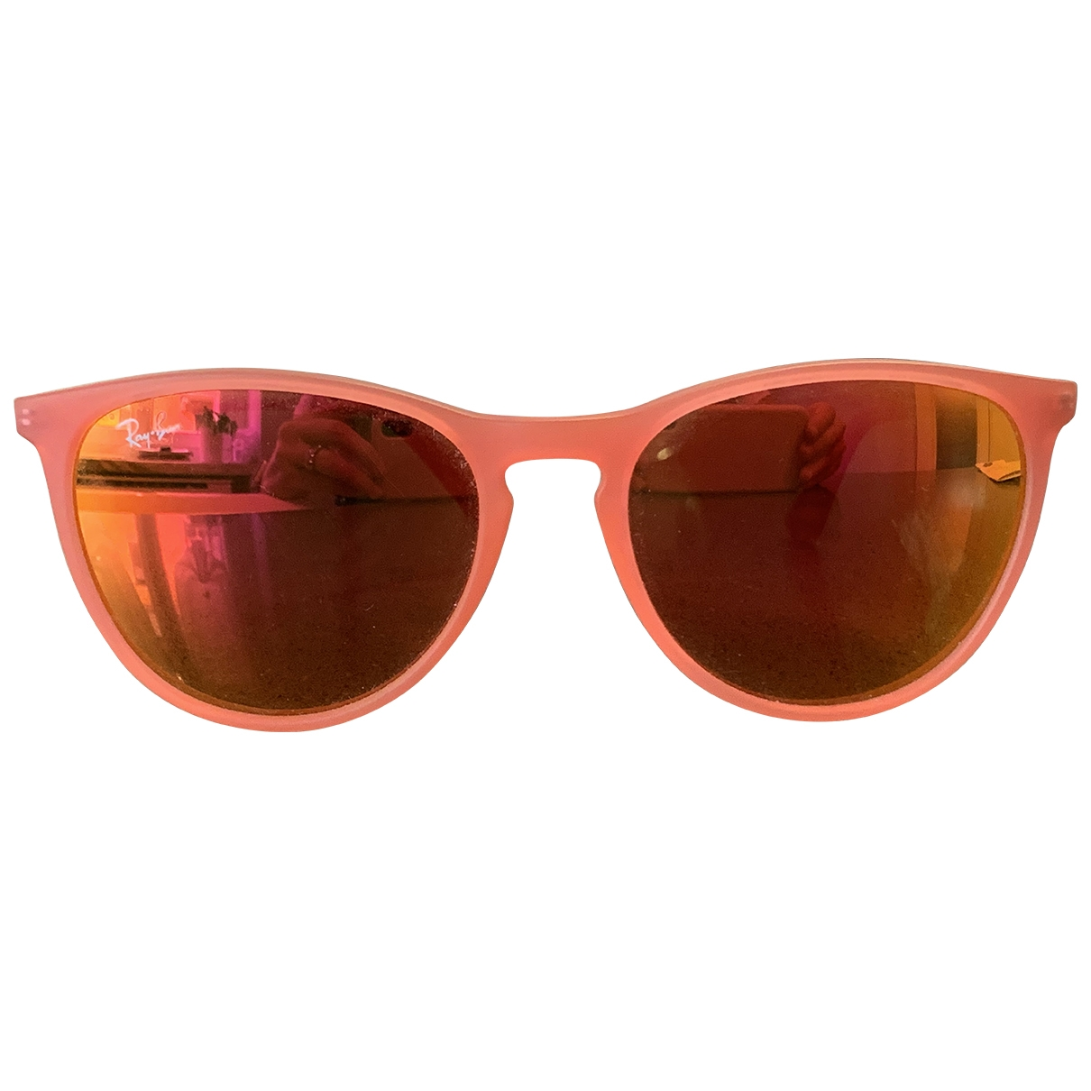 Ray-ban \N Pink Rubber Sunglasses for Kids \N