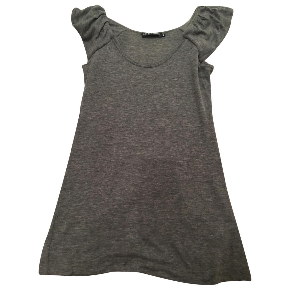 Dolce & Gabbana \N Grey Cashmere  top for Women 44 IT