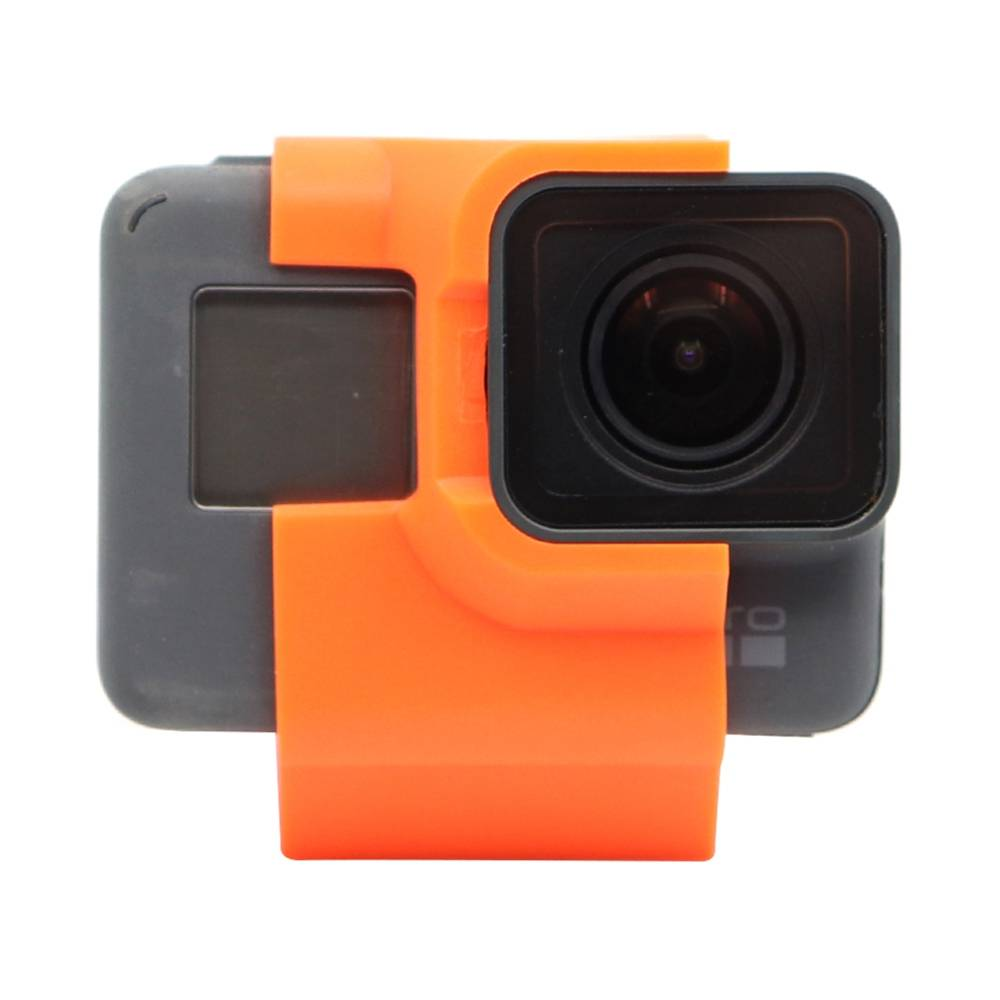 Reptile TPU Action Sport Camera Mount 30 Degree Inclined FPV Camera Holder For Gopro 5/6/7 FPV Racing Drone - Orange