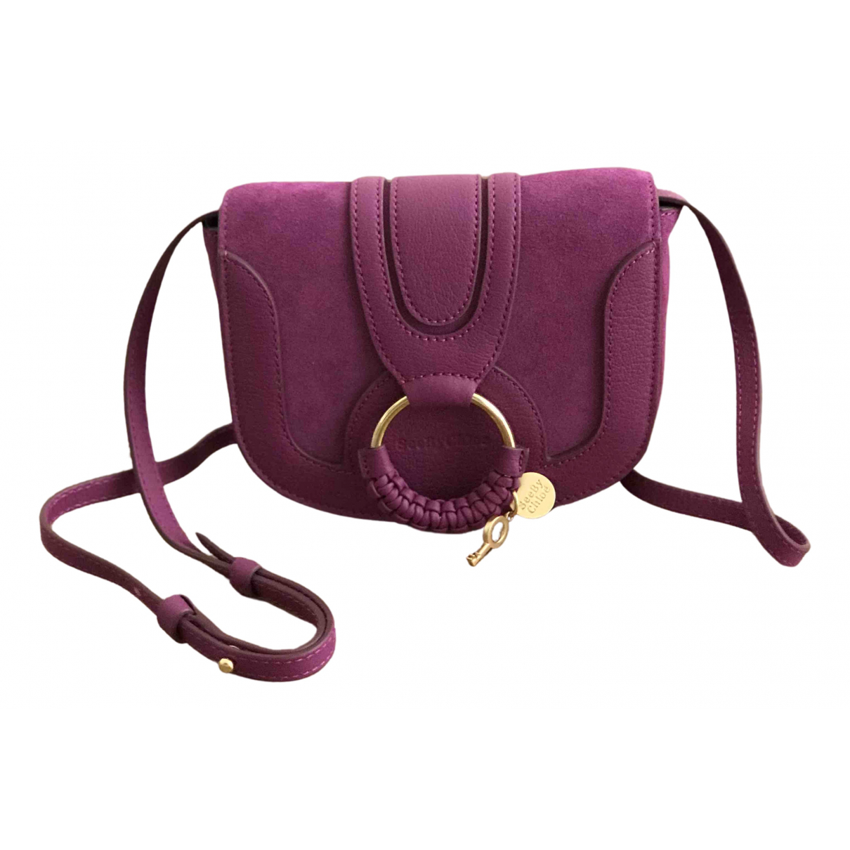 See By Chloé \N Purple Leather handbag for Women \N