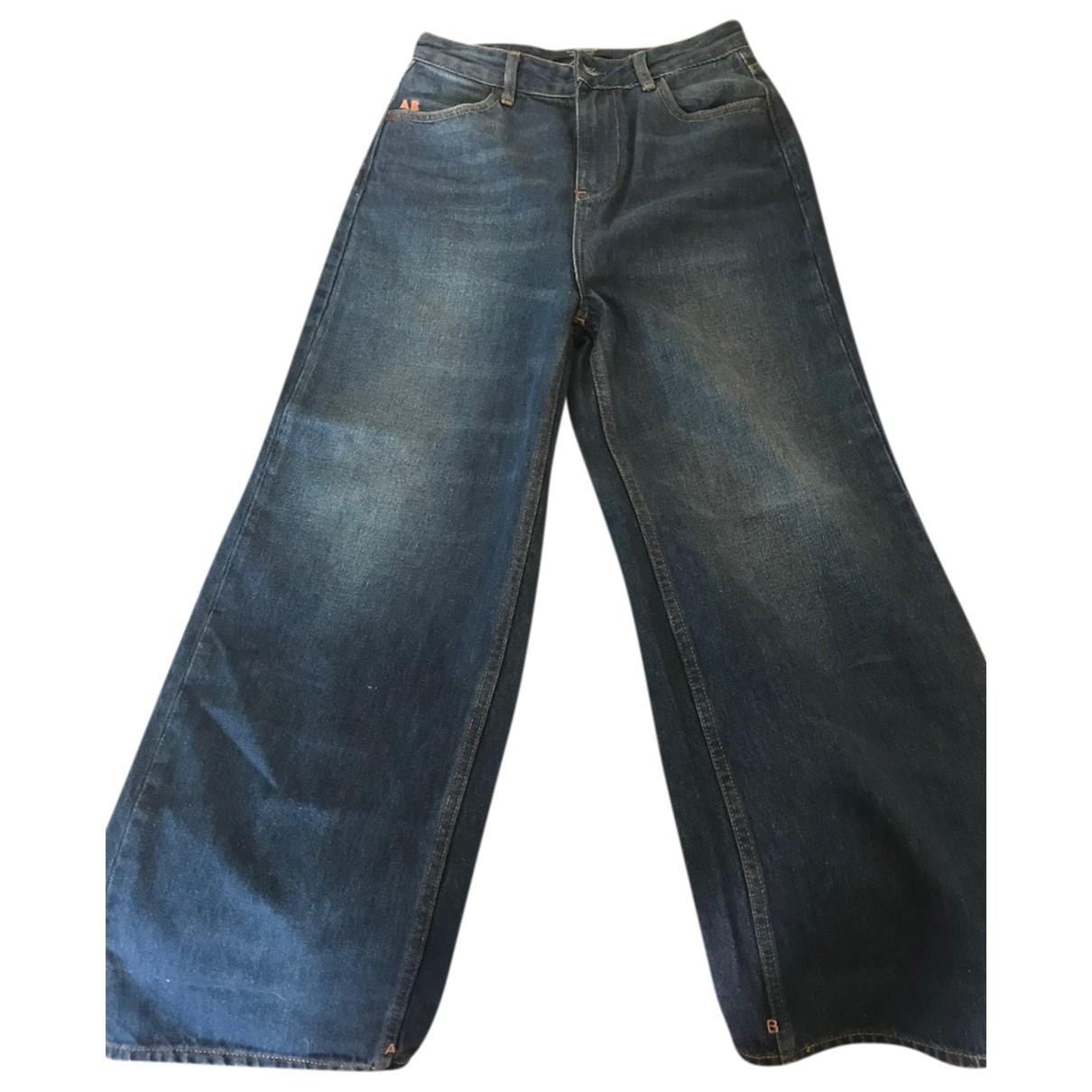 Scotch & Soda \N Blue Cotton Jeans for Women 26 US