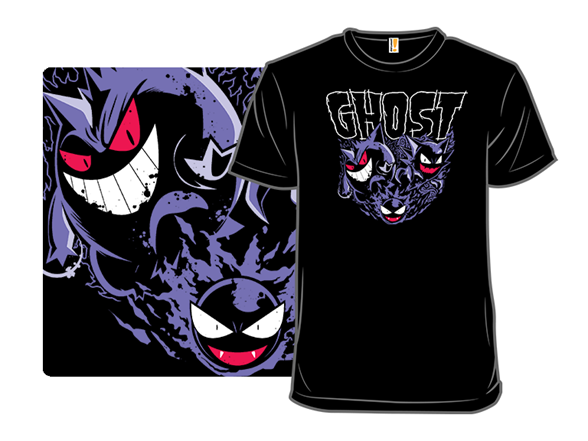Ghost Type T Shirt