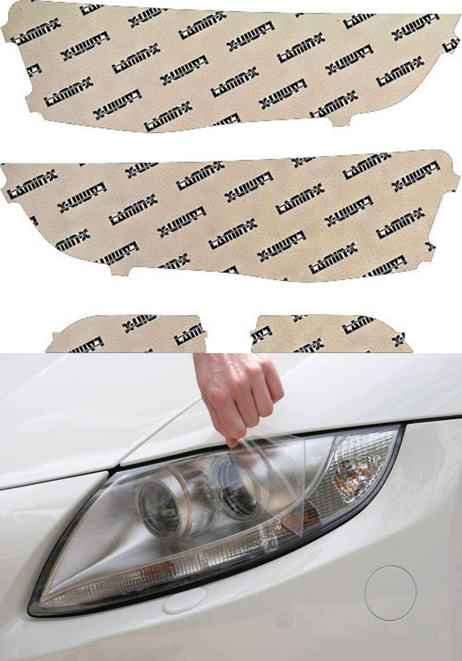 Audi S4 13-16 Clear Headlight Covers Lamin-X A031CL