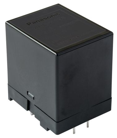 Panasonic , 24V dc Coil Non-Latching Relay DPNO, SPNC, 1A Switching Current PCB Mount, 3 Pole (25)