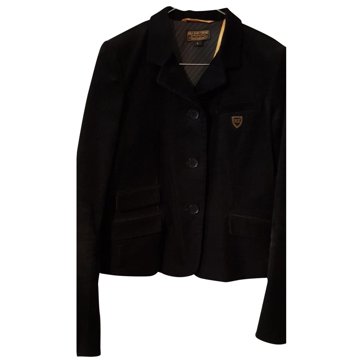 Polo Ralph Lauren \N Black Velvet jacket for Women L International