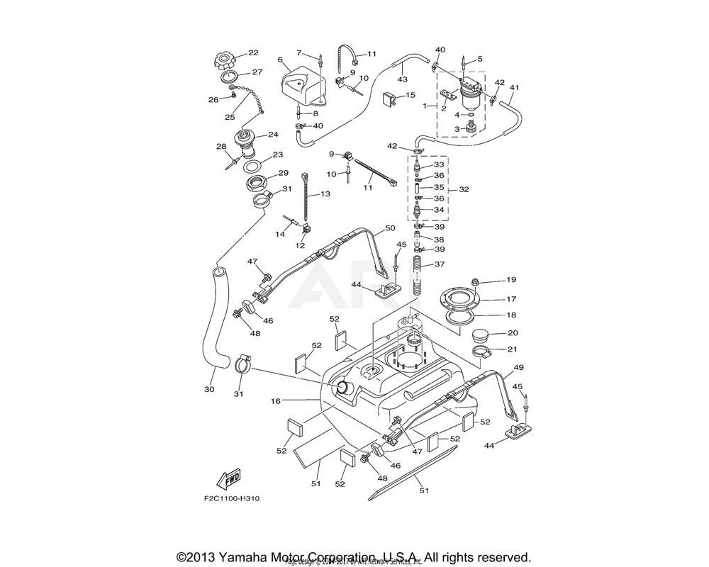 Yamaha OEM 90464-17800-00 CLAMP