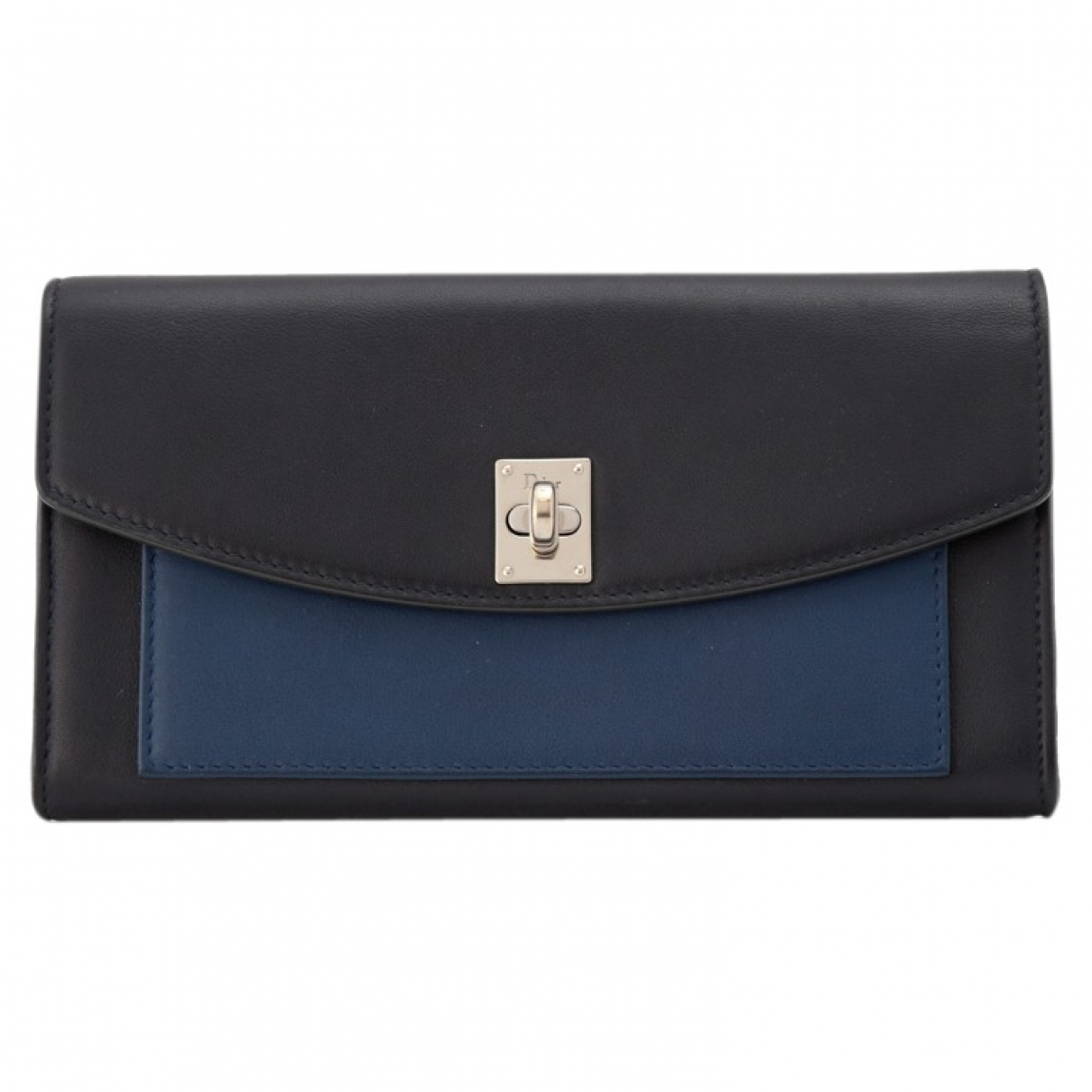 Dior \N Black Leather wallet for Women \N