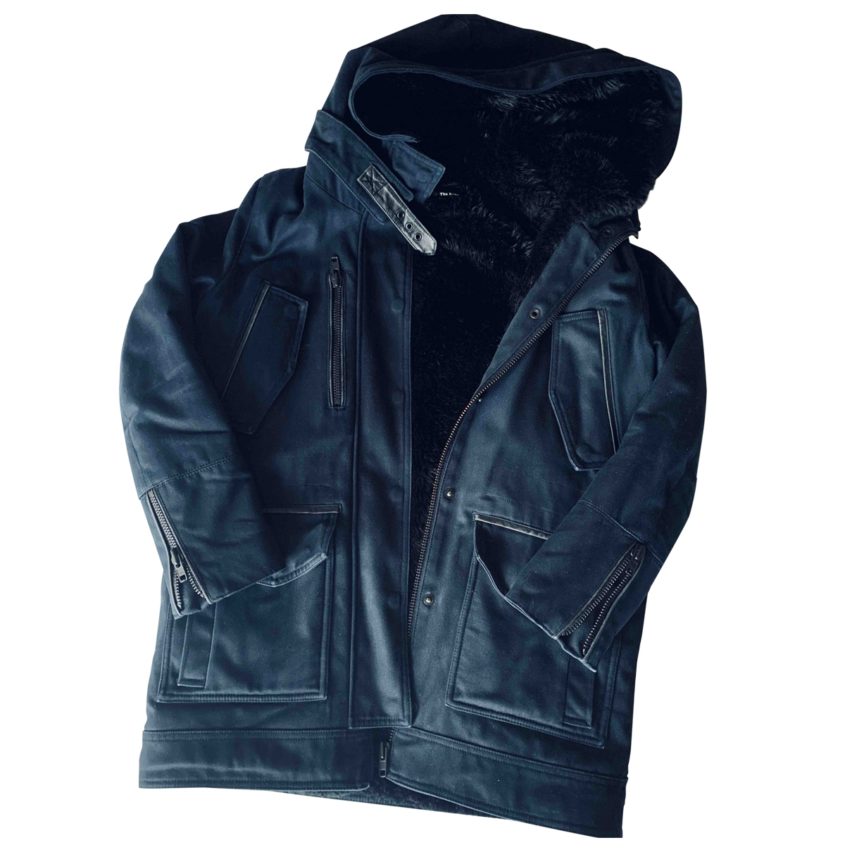 The Kooples \N Blue Cotton coat for Women 2 0-5