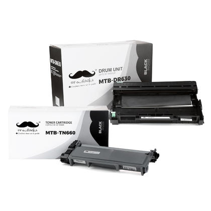 Compatible Brother MFC-L2707DW Toner and Drum Combo