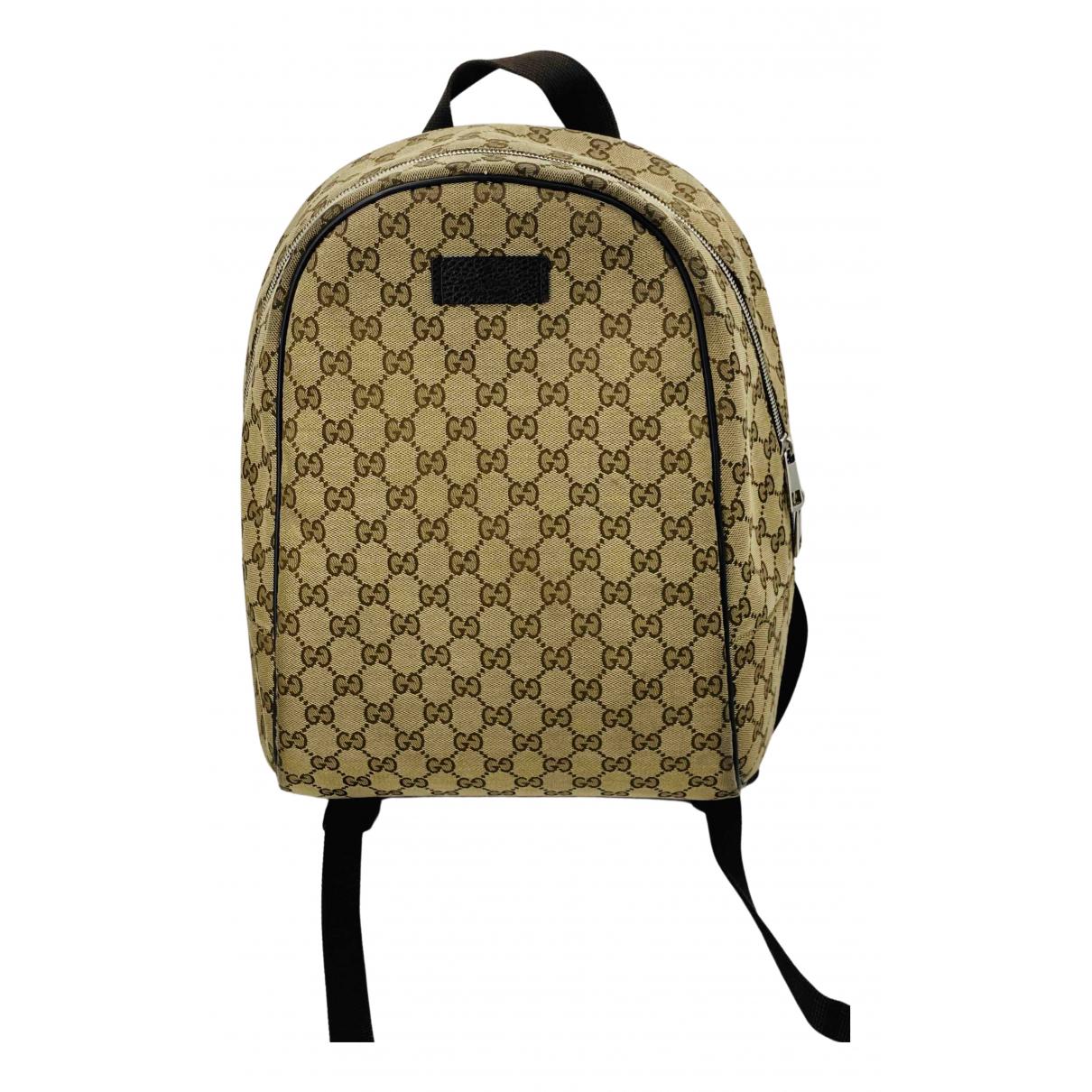 Gucci \N Brown Wool bag for Men \N