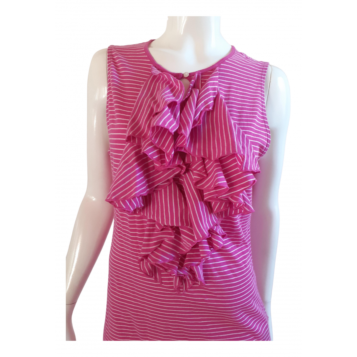Lauren Ralph Lauren \N Pink Cotton  top for Women 38 FR