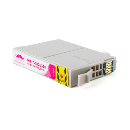 Compatible Epson T252XL320 - 252XL Magenta Ink Cartridge High Yield - Moustache