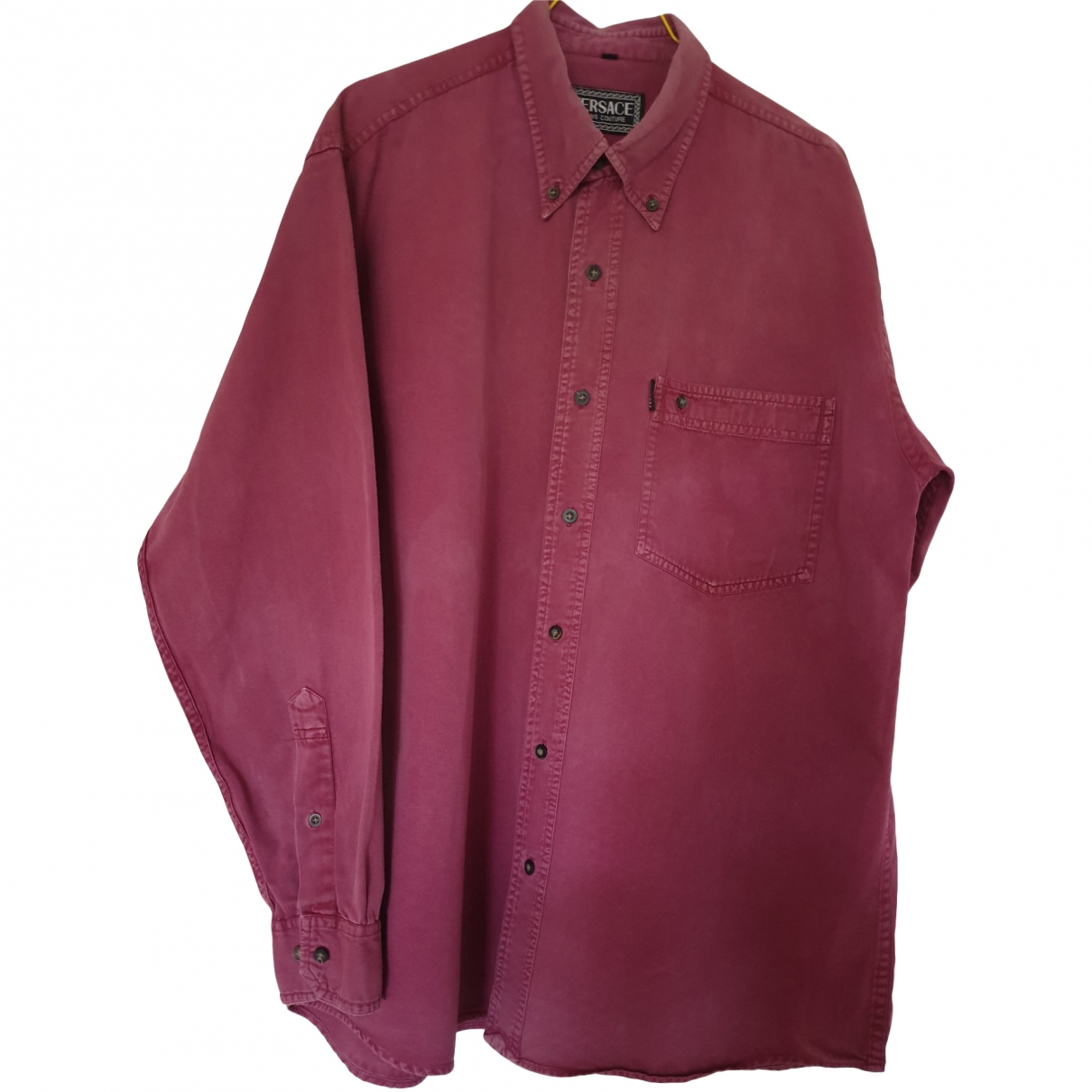 Versace Jeans \N Red Cotton Shirts for Men XL International