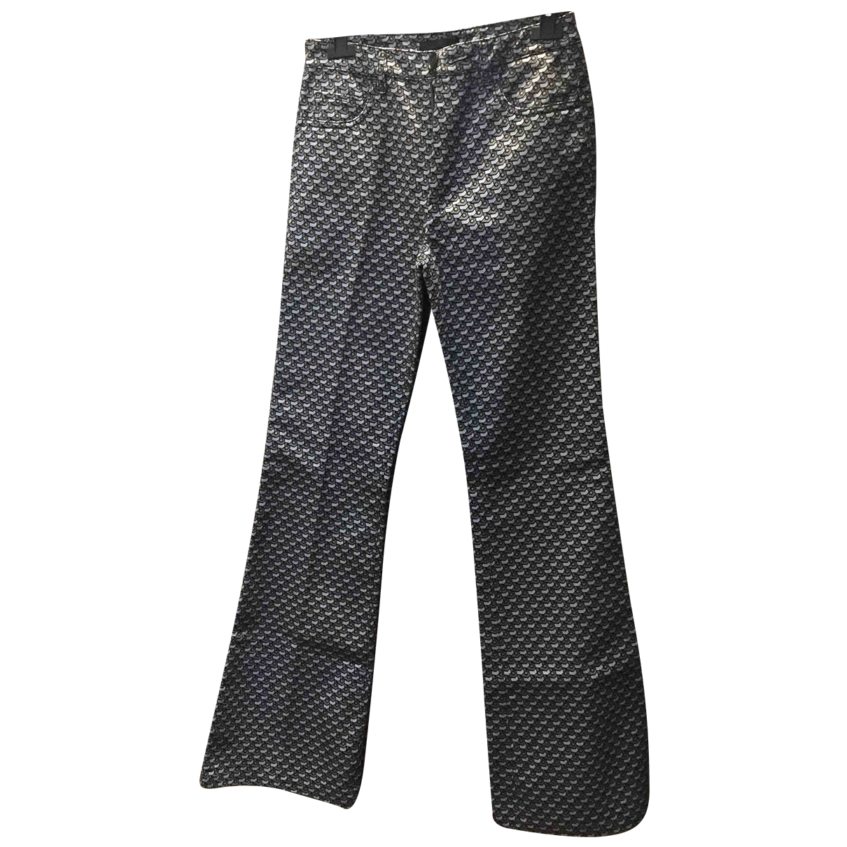 Prada \N Multicolour Denim - Jeans Trousers for Women 40 IT