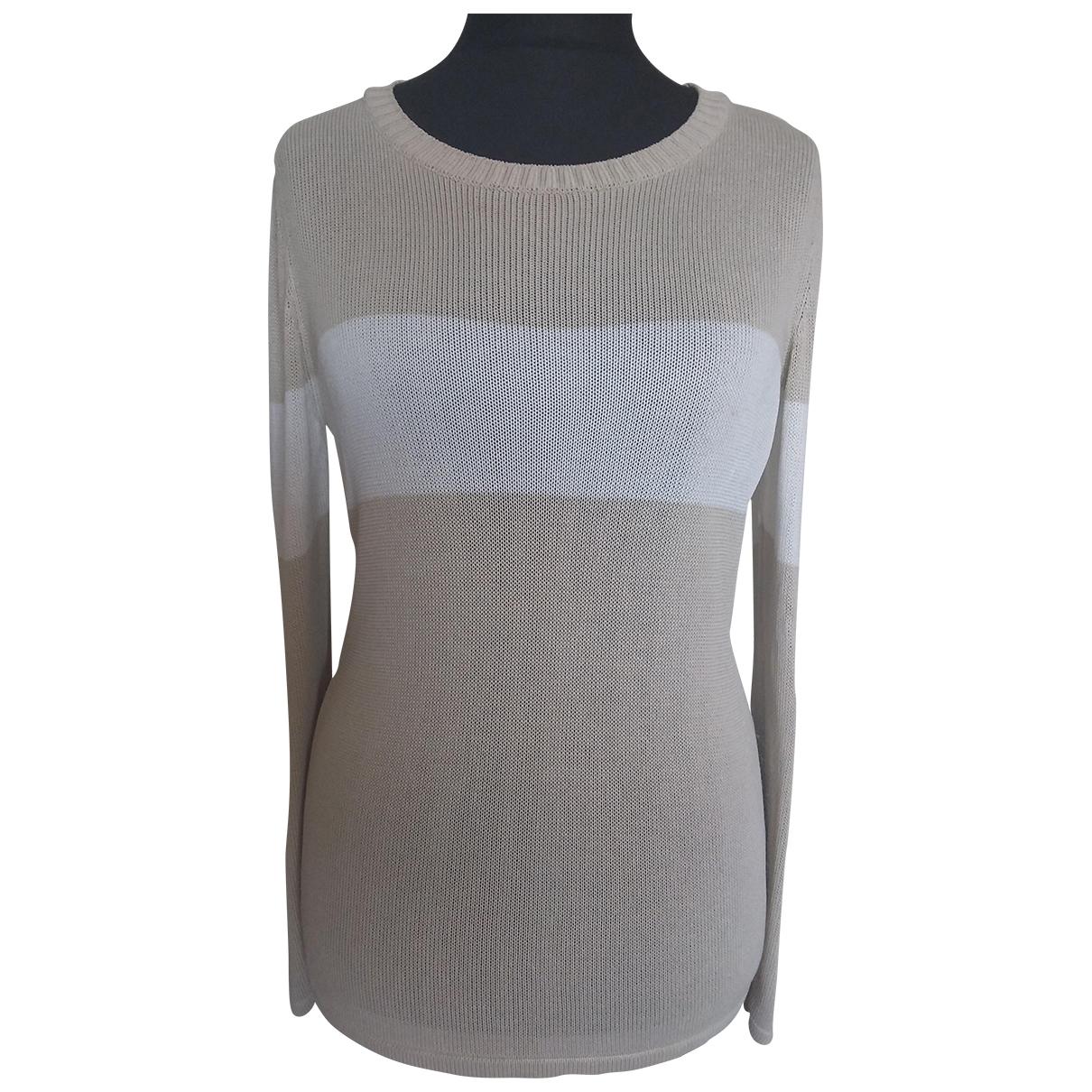 Cacharel \N Beige Silk Knitwear for Women 40 FR
