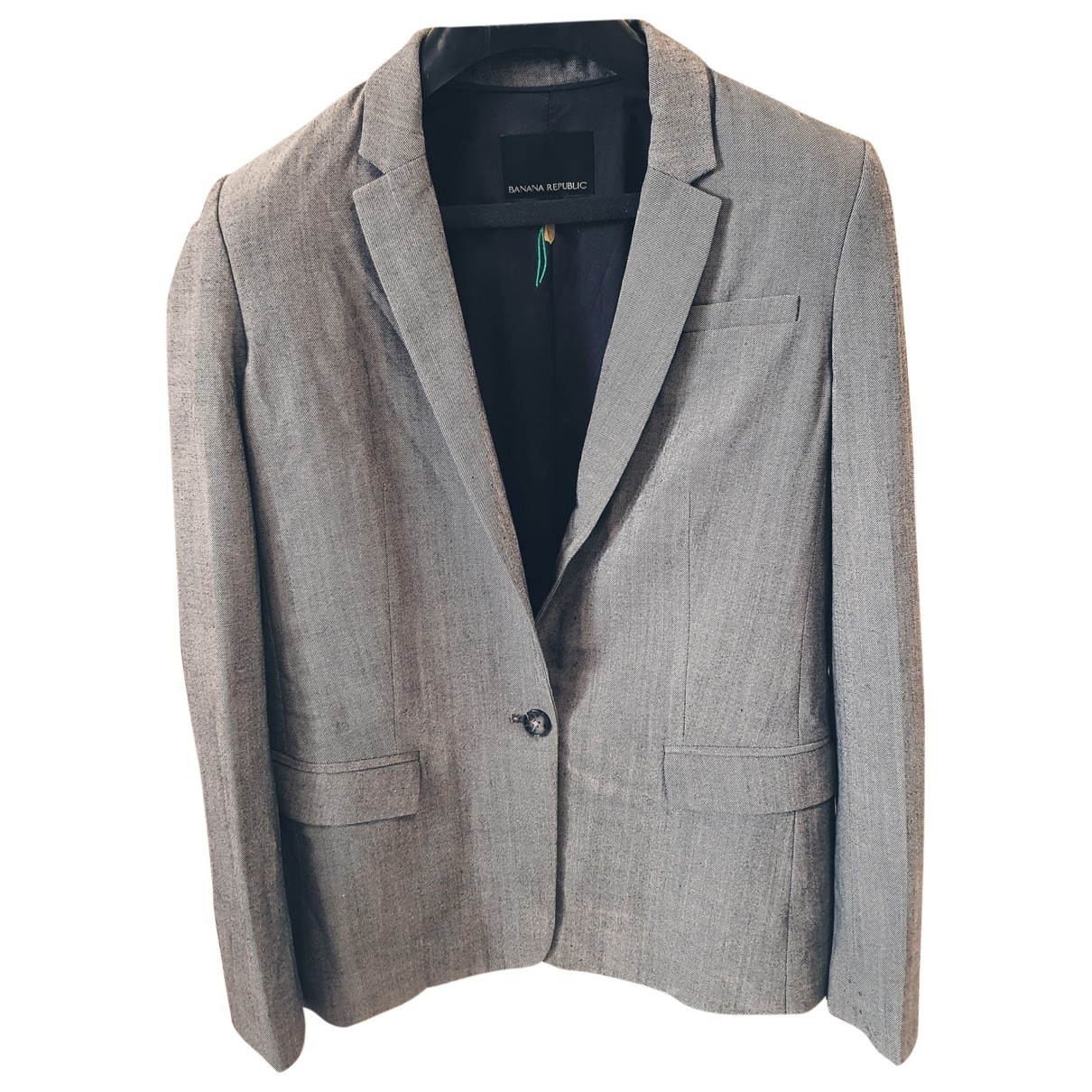 Banana Republic \N Grey Wool jacket for Women 36 FR