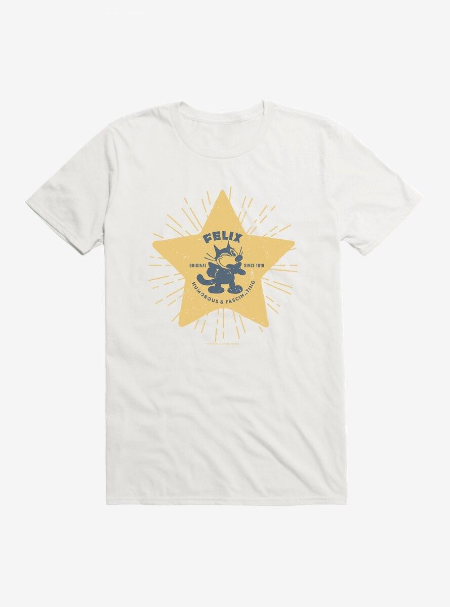 Felix The Cat Star Logo T-Shirt