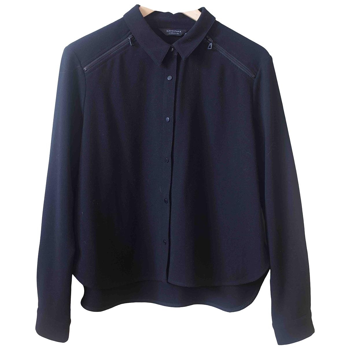 Eleven Paris \N Black Cotton  top for Women 38 IT