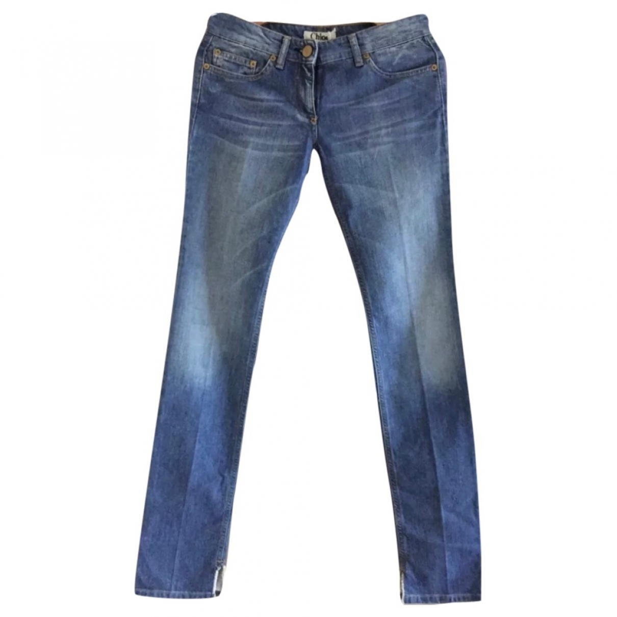 Chloé \N Blue Cotton Jeans for Women 34 FR