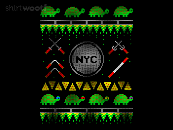 Cowabunga Christmas T Shirt