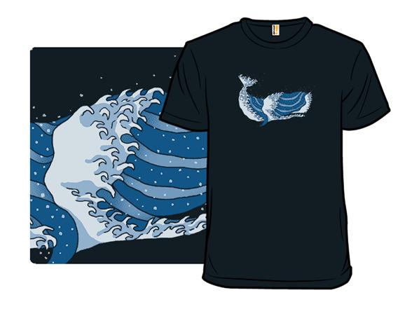 The Great Whale Off Kanagawa T Shirt