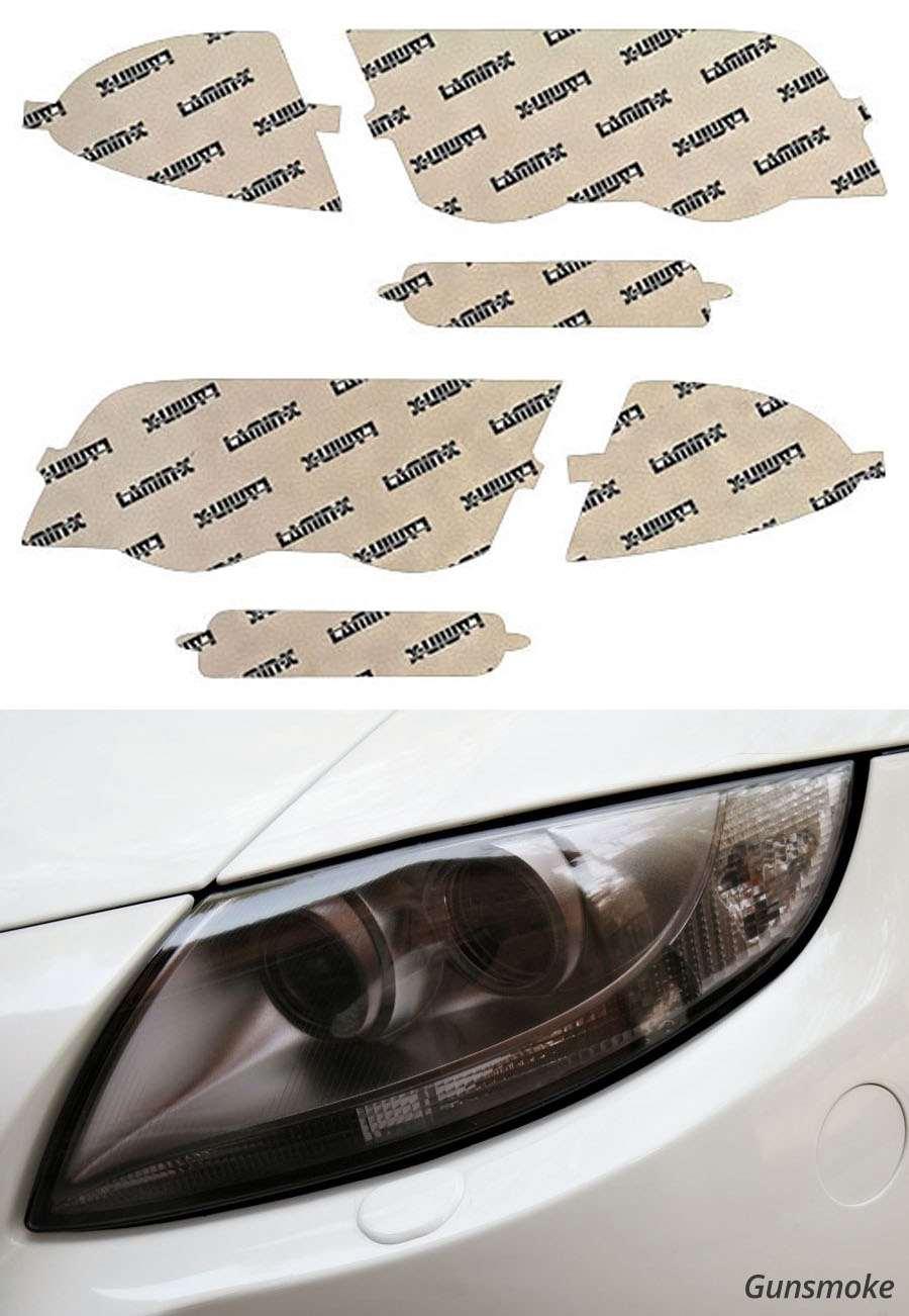 BMW 3-Series Sedan 99-01 Gunsmoke Headlight Covers Lamin-X B003G