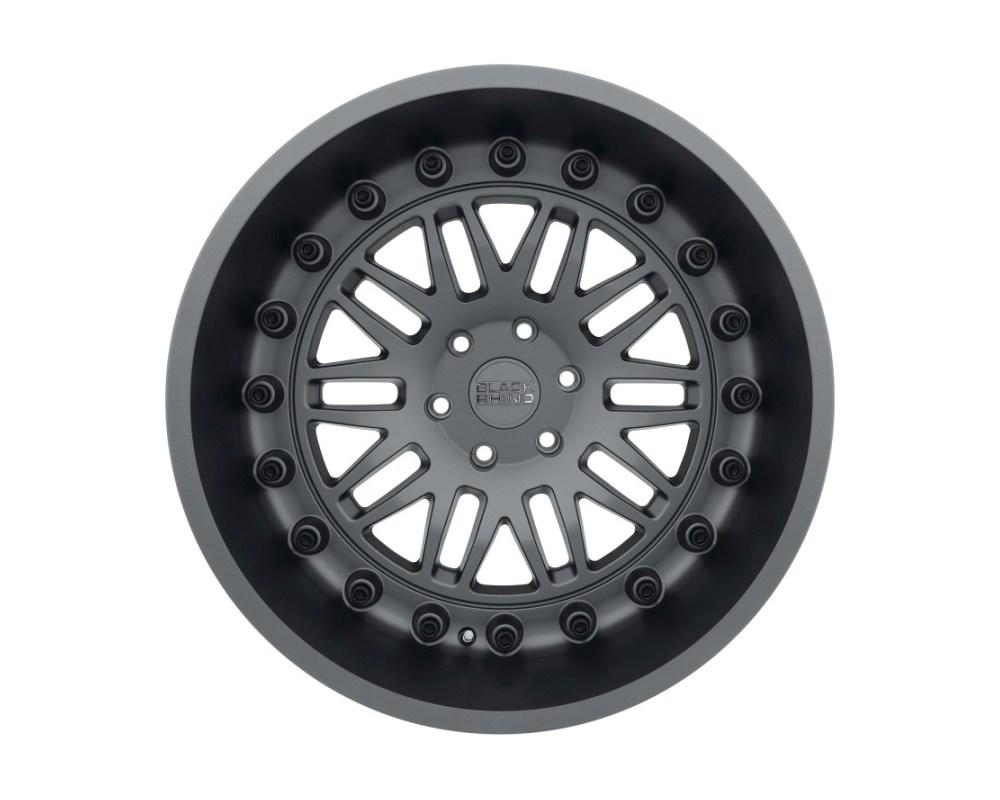 Black Rhino Fury Matte Gunmetal Wheel 17x9.5 6x139.70|6x5.5 12mm CB112