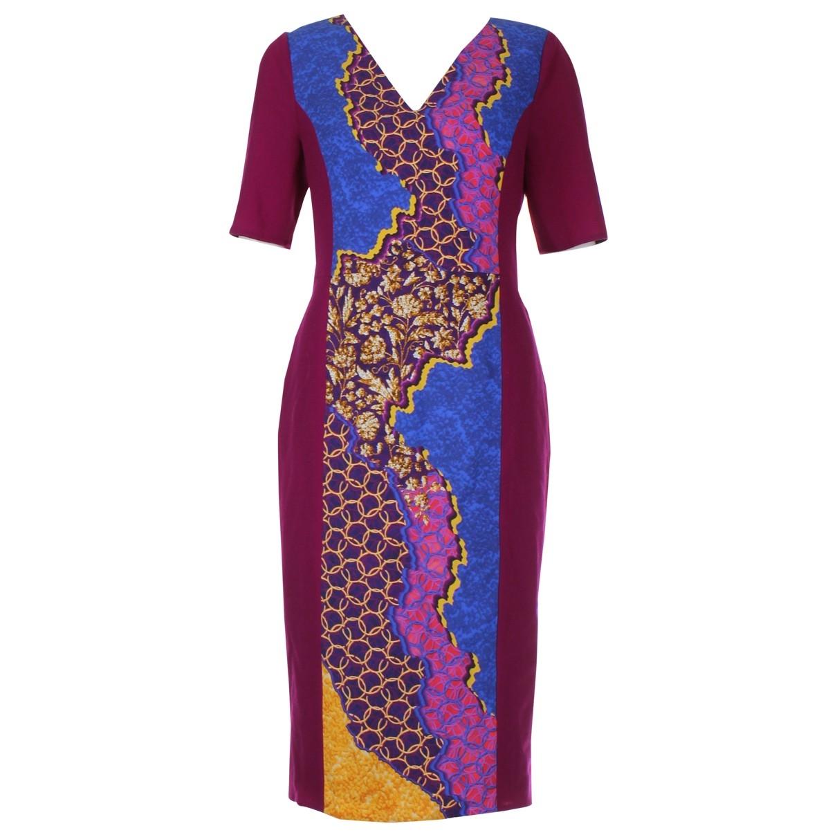Peter Pilotto \N Pink Cotton dress for Women 12 UK